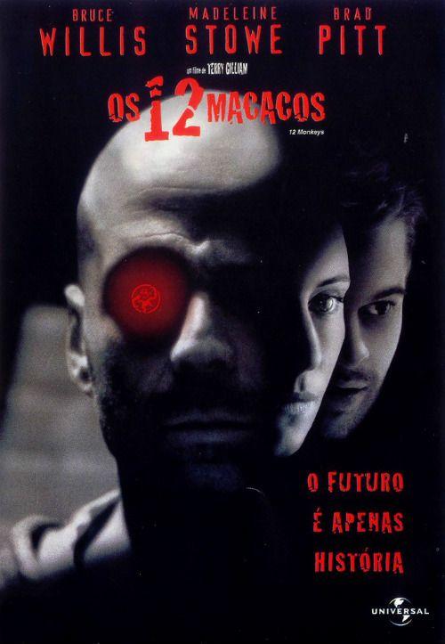 Um filme de Terry Gilliam com Bruce Willis, Madeleine Stowe : No ano de 2035, James Cole (Bruce Willis) aceita a missão de voltar ao passado para tentar decifrar um mistério envolvendo um vírus mortal que atacou grande parte da população mundial. Tomado como louco, no passado, ele tenta provar a sua sanidade...