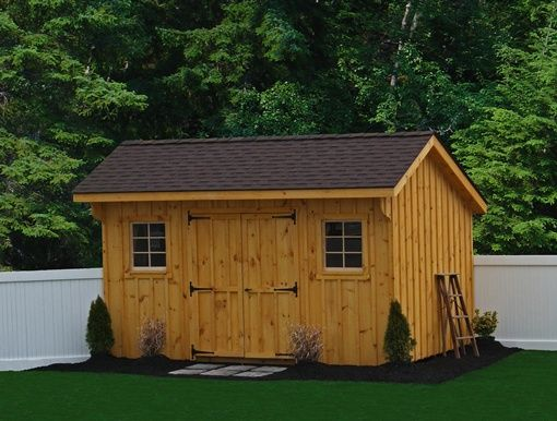 Rustic sheds with porch architectural shingles outdoor for Rustic shed with porch