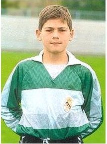 Iker Casillas in childhood