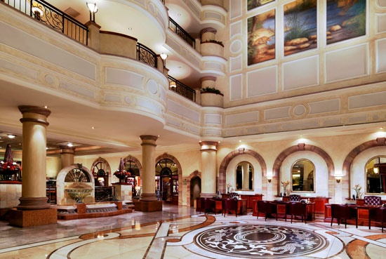 A Gathering Place. Sheraton Hotel Pretoria