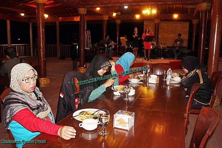 Restoran Pula Putri Resort - Kepulauan Seribu