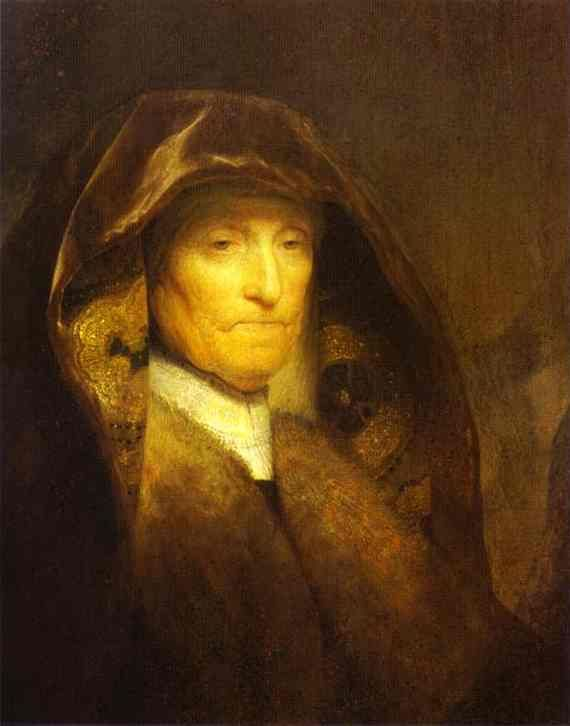 Rembrandt Portrait of the Artists Mother