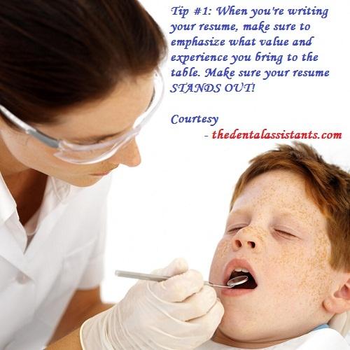 Dental Assistant tips