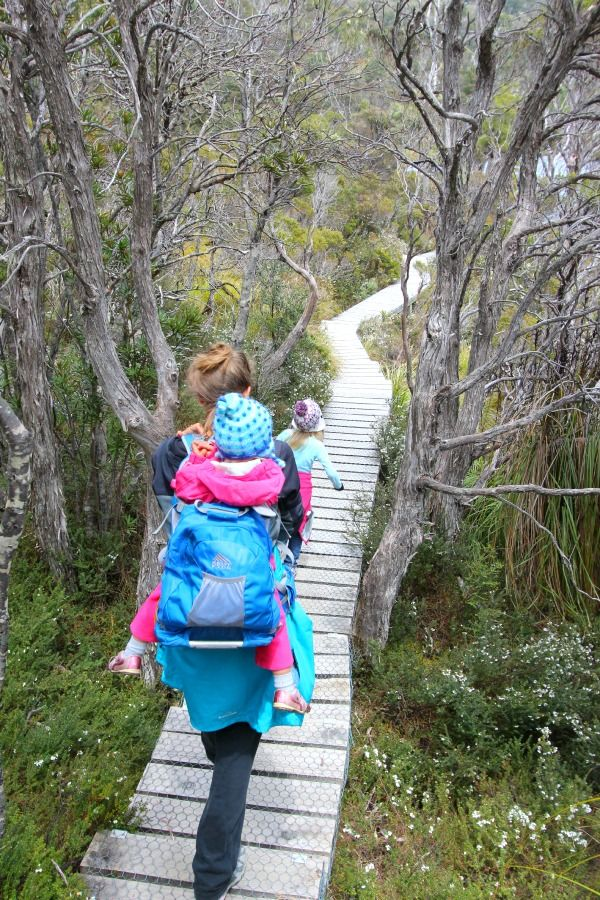 Hiking at Cradle Mountain, Tasmania, Australia
