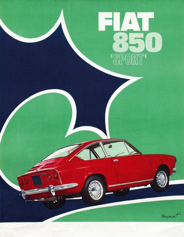 282 Best Images About Fiat Ads  U0026 Posters  U0026 Logos On