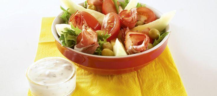 Salaatti Schwarzwaldin tapaan | Alkuruoat | Reseptit – K-Ruoka