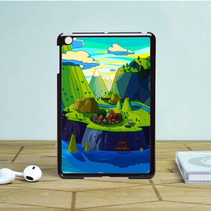 Cartoon Mountains Rivers iPad Mini 2 Case Dewantary