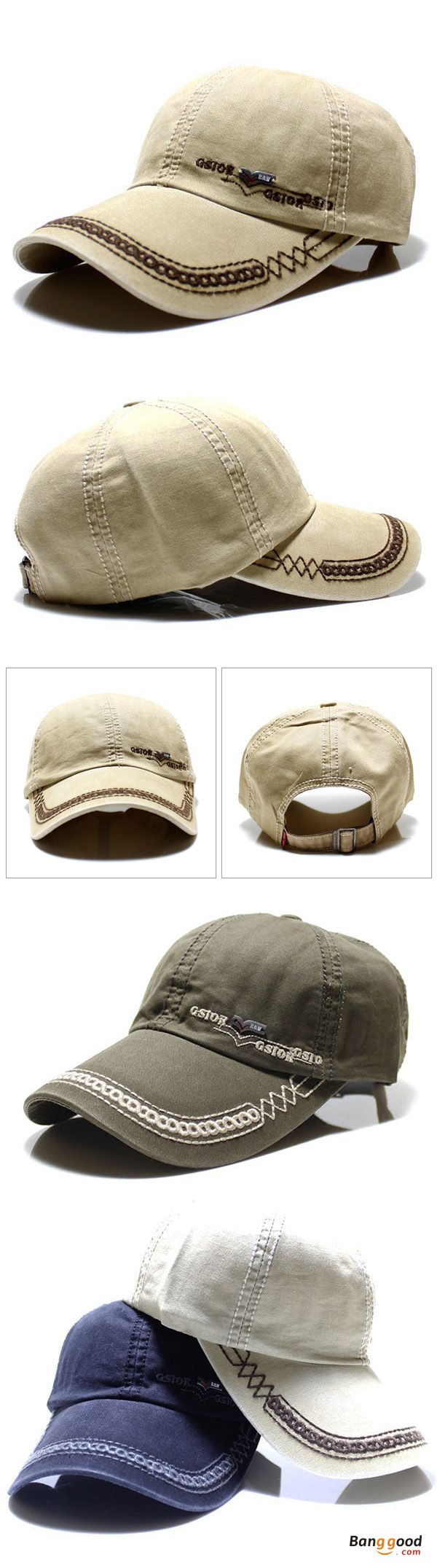 US$9.99+Free shipping. Men's Hat, Baseball Hat, Sports Hat, Duck Hat, Cotton, Washed. Color: Khaki, Black, Navy, Grey, Green. Shop now~
