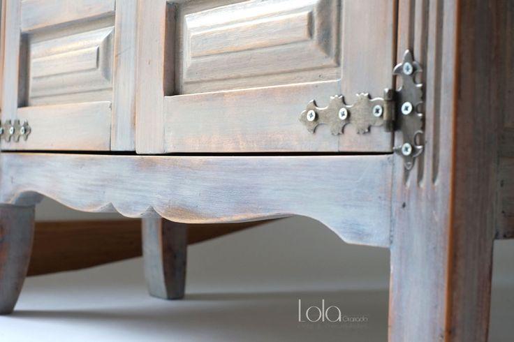 41 best images about muebles restaurados on pinterest for Mueble castellano restaurado