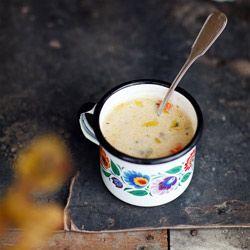 """Zupa grzybowa """"działkowa"""" - Kwestia Smaku"""