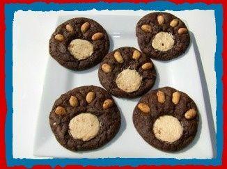 Bear paw cookies...Preschool Teddy Bear Activities |