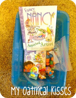 quiet time box ideas {great post!}