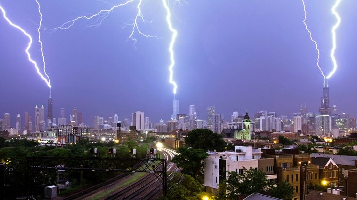 Chicago Derecho Storm Video and Time-lapse Highlights - June 30, 2014. This is a highlight reel of all the lightning I was able to capture d...