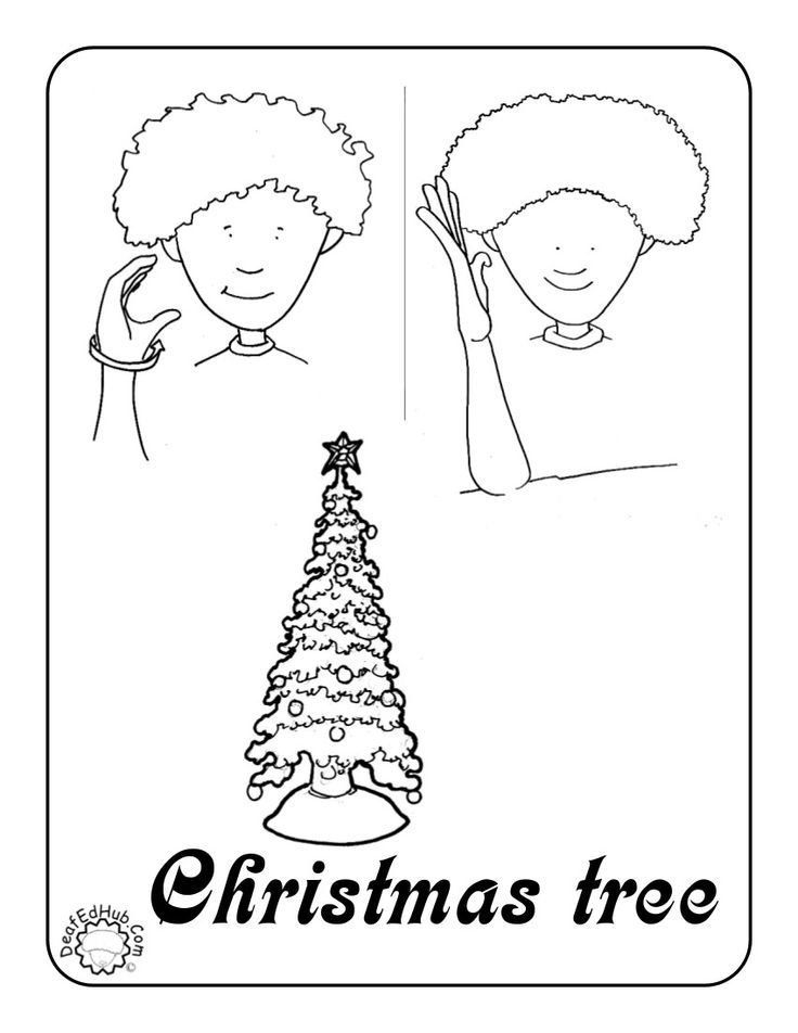 asl coloring pages - photo#27