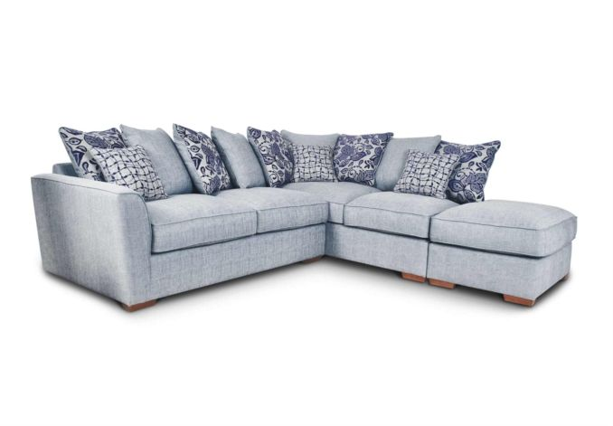 Fable Rhf Scatter Back Corner Sofa At Furniture Village Fable