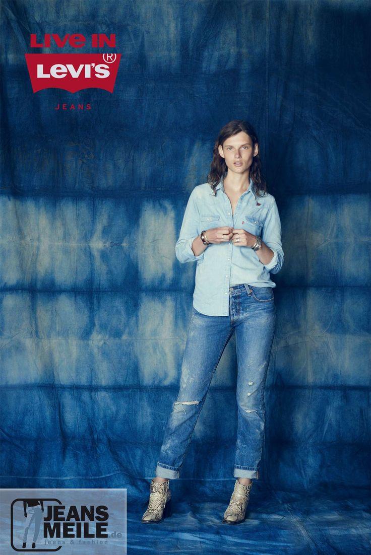 """Unzählige Geschichten – ein Original. Die Levis 501® Jeans definiert schon seit Jahrzenten wie kaum ein anderes Kleidungstück die globalen Styles, wird von den unterschiedlichsten Generationen verehrt – nicht umsonst hat das renommierte Time Magazine die 501 vor einigen Jahren zum """"Fashion Item of 20th Century"""" gekürt. Entdecke Jetzt die beliebteste Hose aller Zeiten."""