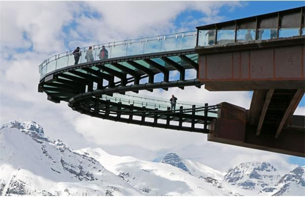 Calgary Roof Repair Recommended: Gallery: The Glacier Skywalk opens at Jasper
