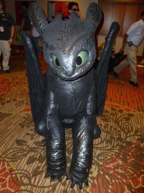 Toothless costume by Jessica Angus, DreamVision Creations