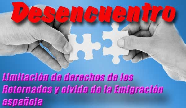 Ciudadanía española exterior y circunscripción única una posible solución p incorporar diáspora a la vida política y luchar x los derechos de la emigración