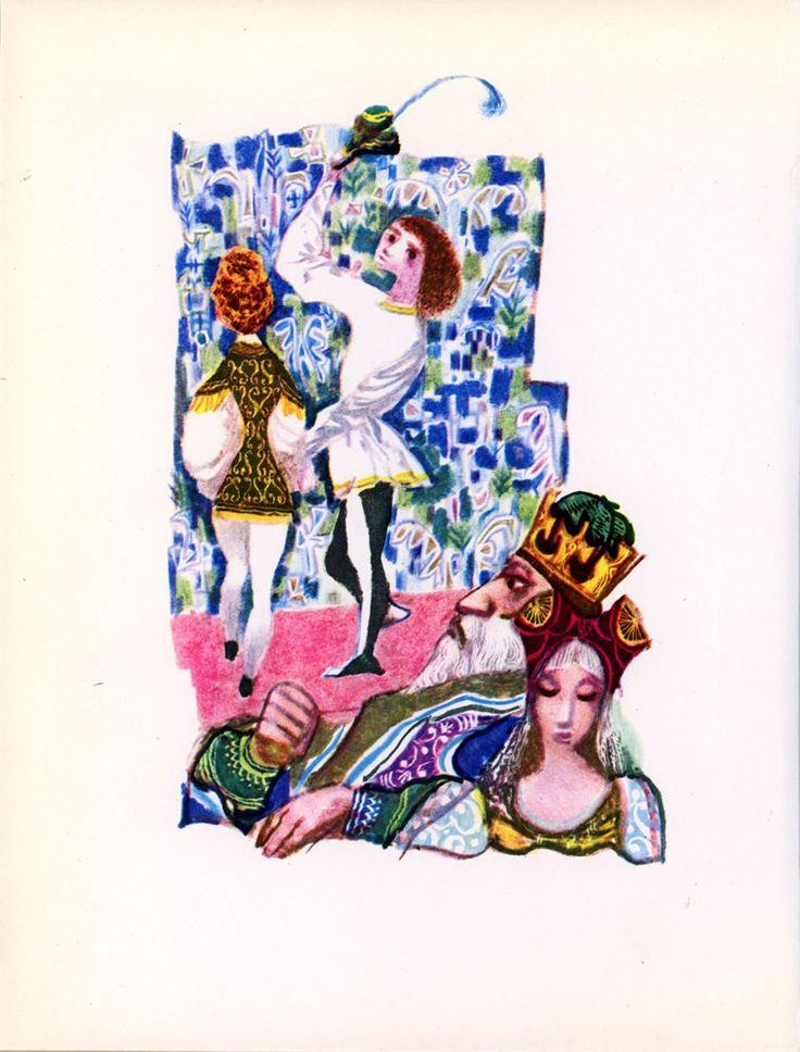 Grimm's Fairy Tales illustrated by Jiri Trnka