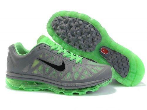 Men\u0027s Nike Air Max 2011 grey/green/black 429889-003A - \u003c3