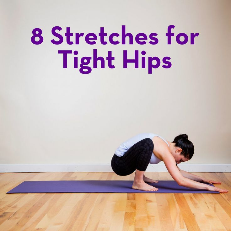 Tight hips can be a problem for almost everyone. These 8 stretches from @POPSUGARFitness can help!