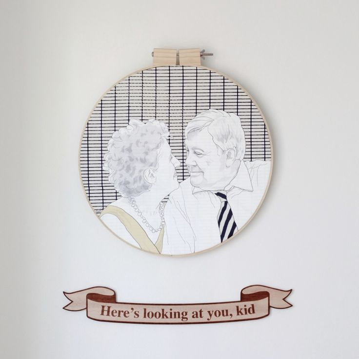 Image of The Movie Quote Wall Hanging
