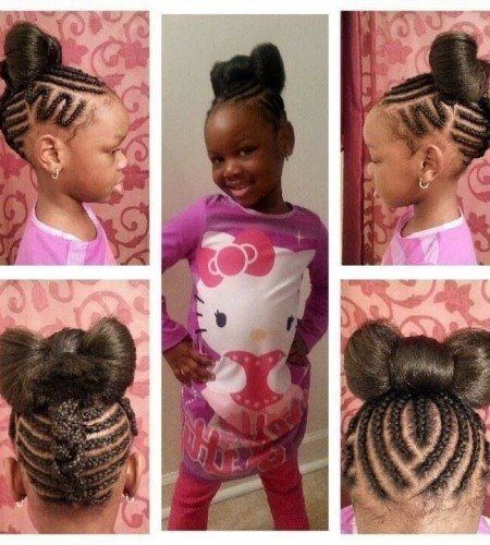Best 25+ Cornrows kids ideas on Pinterest | Kids cornrows styles ...