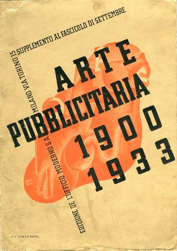 Progetto grafico di Carlo Dradi, (1908 - 1982) e Attilio Rossi, (1909 - 1994).