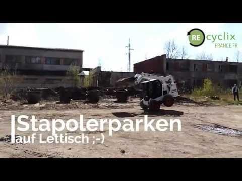 Recyclix usine riga lettonie