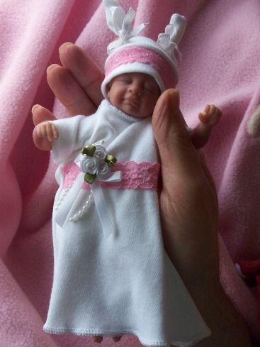 baby BURIAL gown Micro TINY baby funeral gown HUSHABYEBABY ...