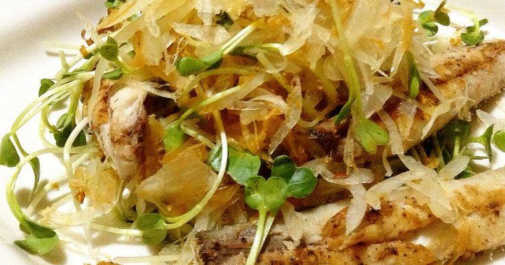 イワシと貝割れオニオンとおかかのサラダ by chichiino [クックパッド] 簡単おいしいみんなのレシピが263万品