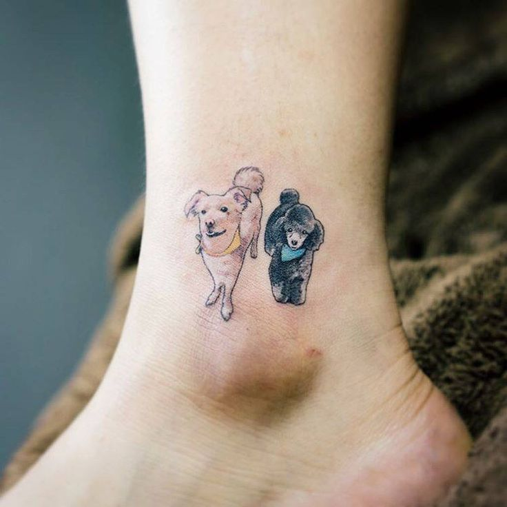 Image Result For Minimalist Border Collie Tattoo Small Dog