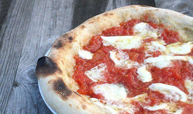 pizza napoletana con lievito liquido
