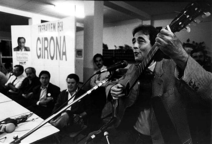 Serrat miting Girona