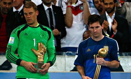 Did #Messi deserve to win the Golden ball?