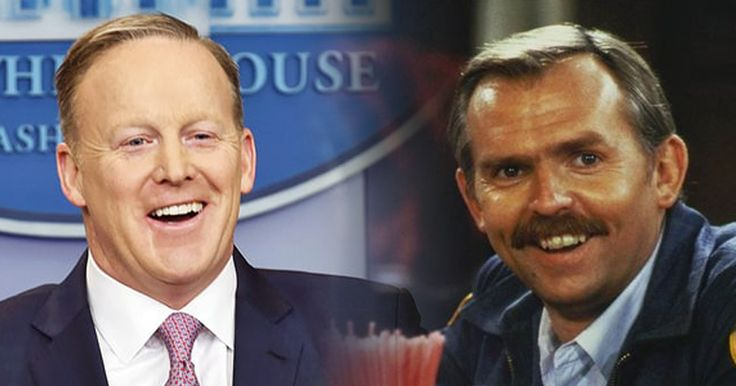 Sean Spicer Sends Fan Letter To 'Cheers' Character Cliff Clavin #humor #funny #lol #comedy #chiste #fun #chistes #meme