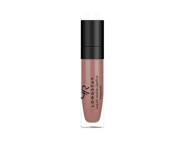 Longstay Liquid Matte Lipstick - Matowa pomadka do ust w płynie - Golden Rose nr 11