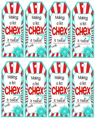 Chex Mix Christmas Gifts 11