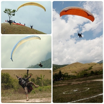 Paralayang at Sibedi