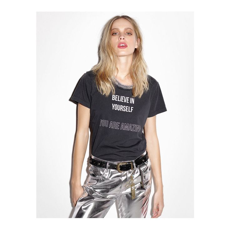 Believe in Yourself T-Shirt Collection - PINKO Spring Summer 2018