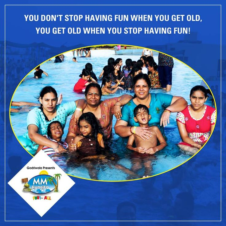 You don't stop having #fun when you get old, you get old when you stop having fun! #MMFunCity #Joy
