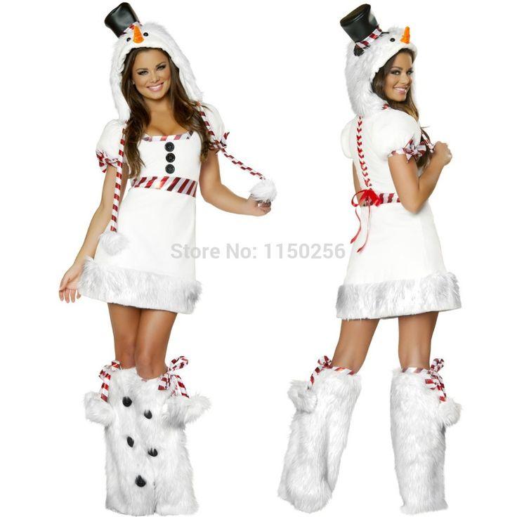 Как сделать костюм снеговика на новыСумки для