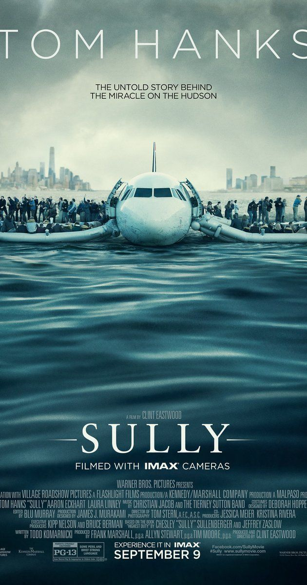 Directed by Clint Eastwood.  With Tom Hanks, Aaron Eckhart, Laura Linney, Valerie Mahaffey. The story of Chesley Sullenberger, who became a hero after gliding his plane along the water in the Hudson River, saving all of the airplane flights 155 crew and passengers.