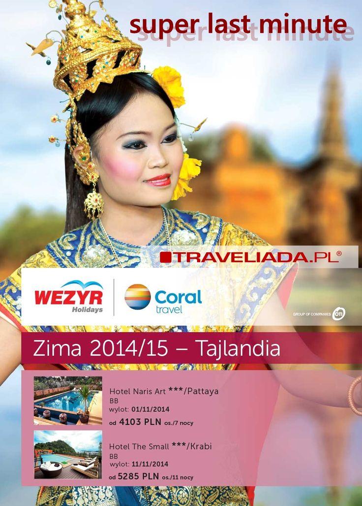 Tajlandia w listopadzie na last minute z Traveliada.pl