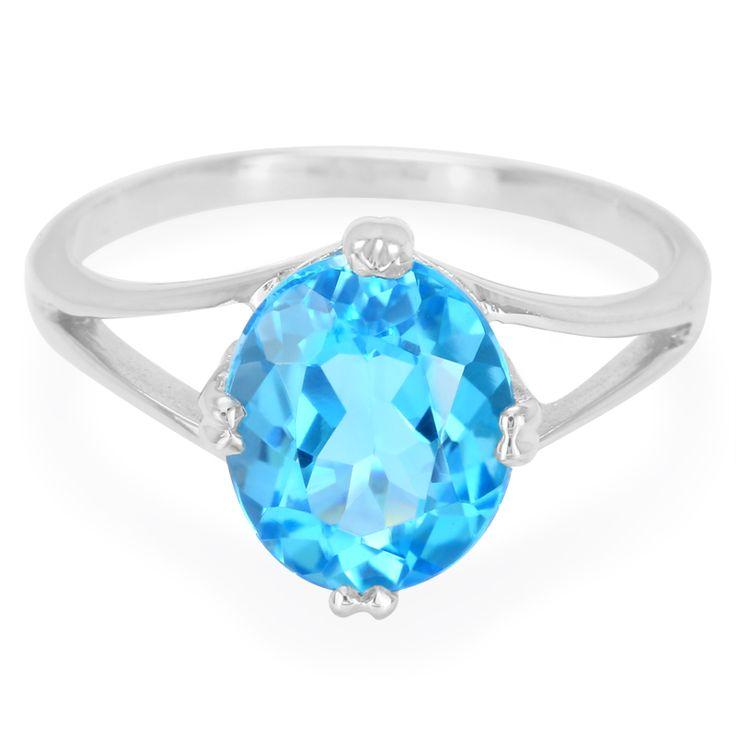 Zilveren+ring+met+een+Zwitsers-blauwe+topaas+-+sieraden+van+Juwelo,+vakmanschap+en+smaakvol+ontworpen+tegen+een+voordelige+prijs.+Gecertificeerd+en+direct+van+de+fabricant+.