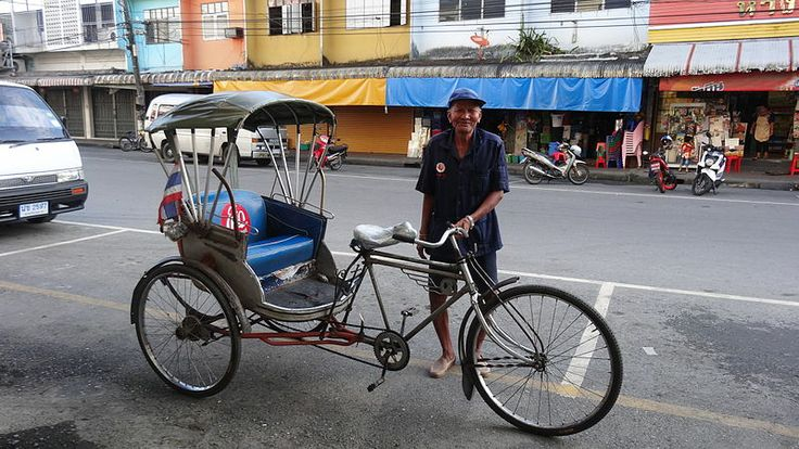 Thailand Adult Trike Passenger Carriage Bikes Bicycles