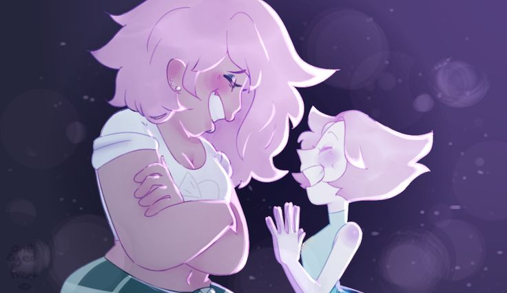 Mystery Girl and Pearl redraw