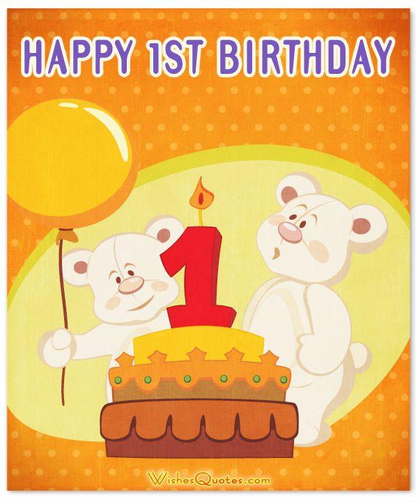 Happy 1st Birthday Wishes Elegant 1st Birthday Wishes And Cute Baby Birthday Messages 1st Birthday Wishes Happy 1st Birthday Wishes Birthday Wishes For Kids