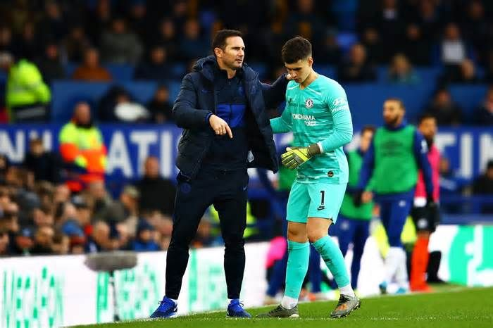 Kepa Arrizabalaga Handed Second Chance At Chelsea By Frank Lampard For 2020 21 Season Get The Latest News For Chelsea In Chelsea News Chelsea Premier League